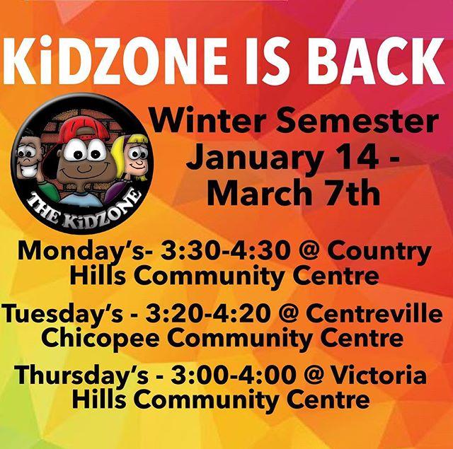 KiDZONE is back! See you this week! #kidzonekw