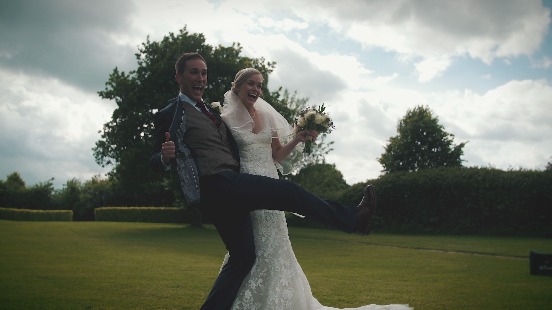 """Jess & Chris - """"Our wedding video captures the vibe of the day so perfectly, in fact a number of friends and family have said it's the best wedding video they have seen...there are so many special moments that you've caught. A video we will treasure for the years to come."""""""