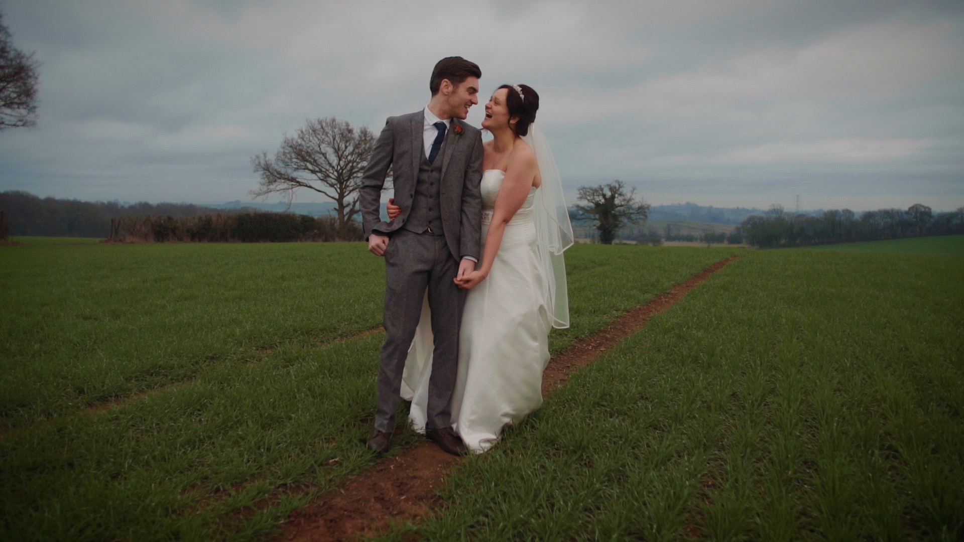 """Sally & Ben - """"Just wanted to thank you for our wedding video. It's incredible and the music was perfect…We absolutely love everything on the USB! It's brilliant and so amazing to have again!"""""""
