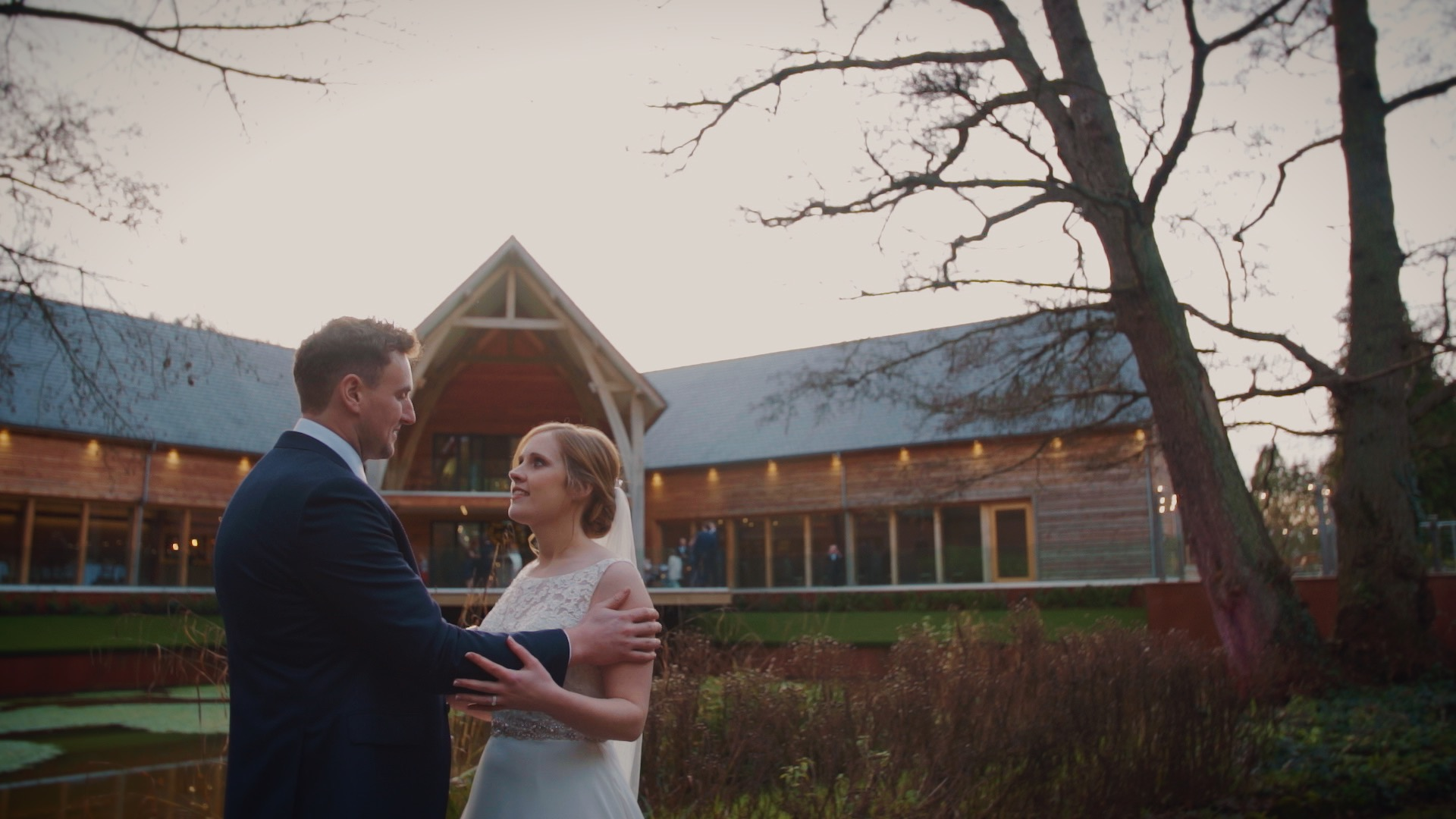 """Claire & Kev - """"Omg Stuart!! We have just watched the video. It is absolutely amazing!!! We love it so much and are both in tears!! Thank you!! You are very talented…Thank you. It's better than I could have ever imagined! You've captured the day beautifully."""""""