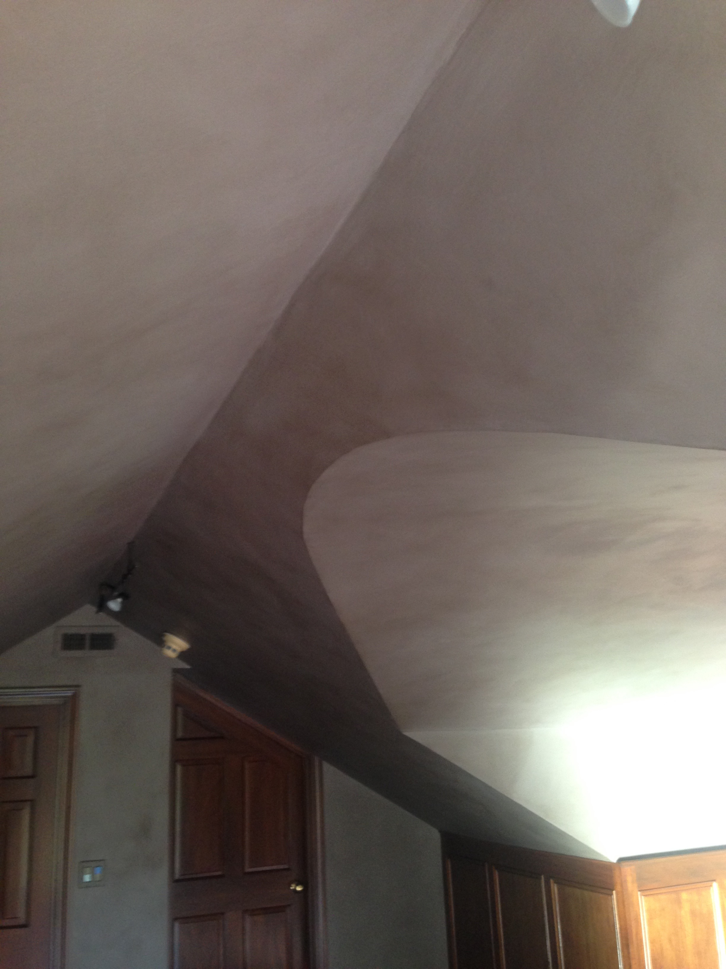 Office at home - detail ceiling