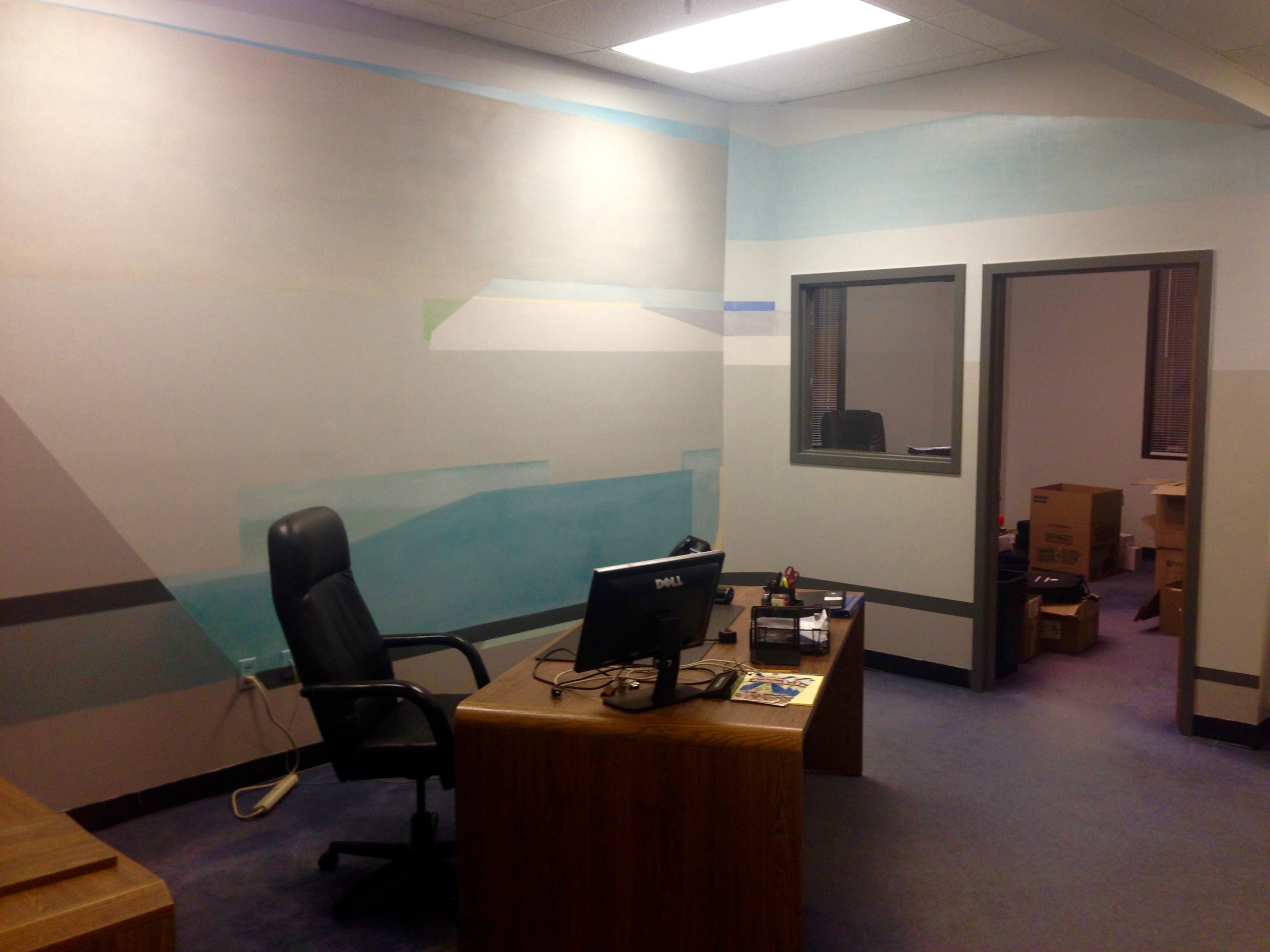 Office space entry area - another view