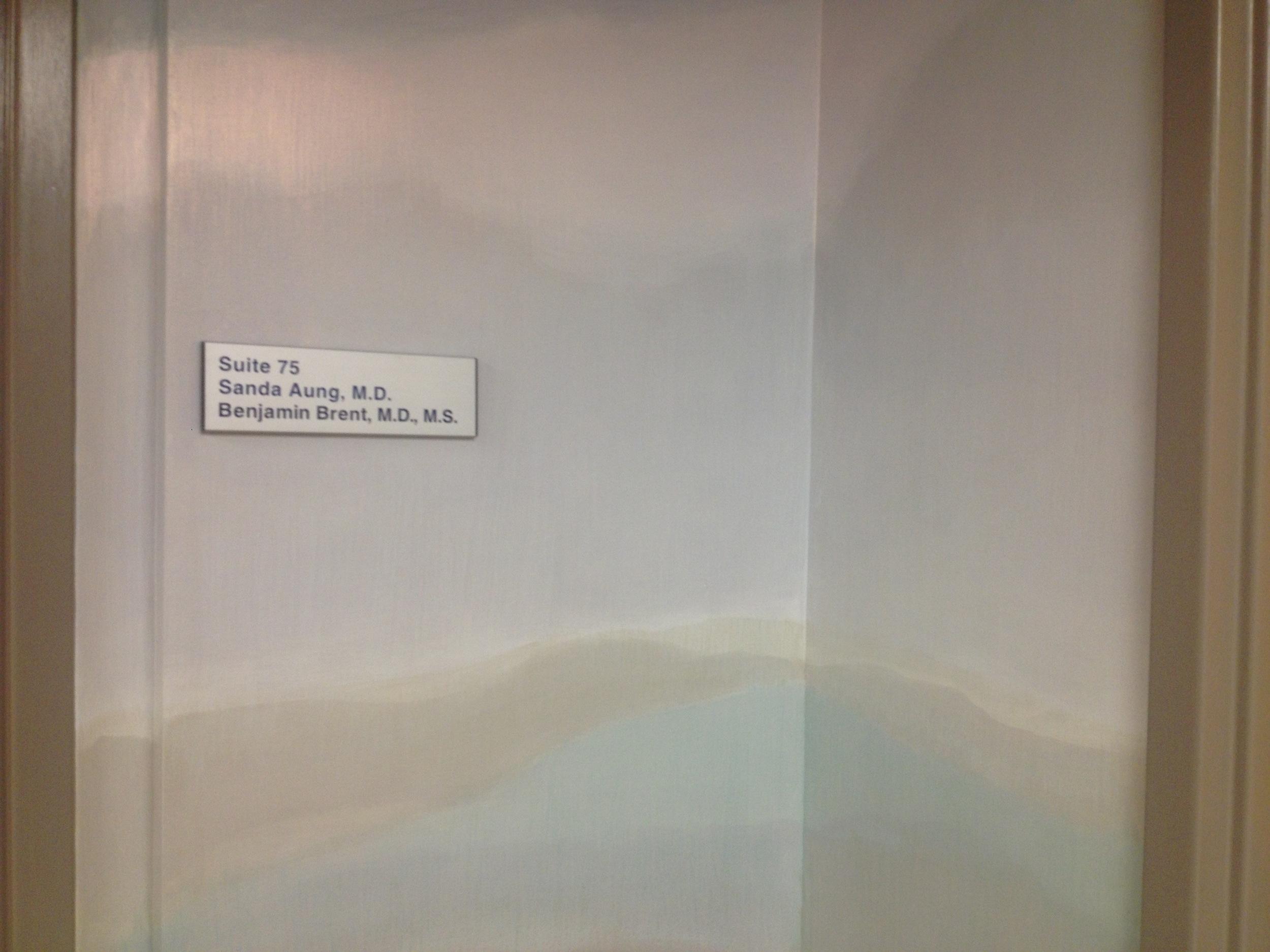 Office hallway - detail