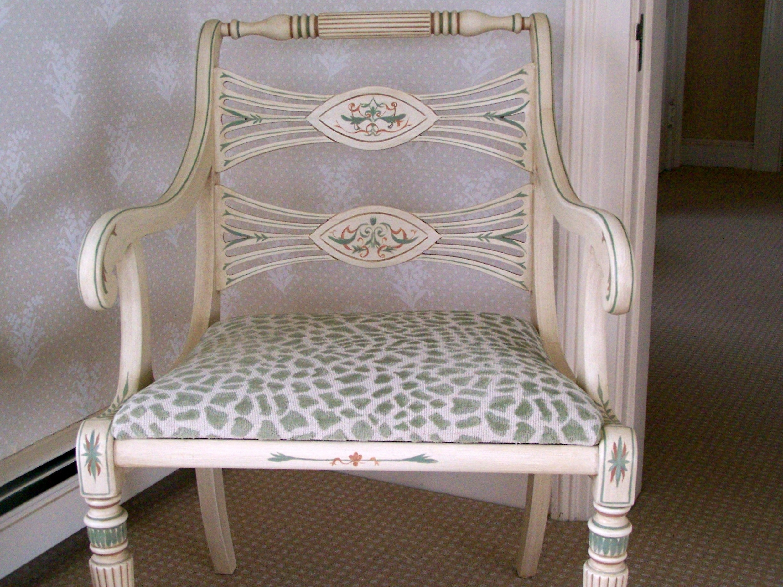 French chair - detail