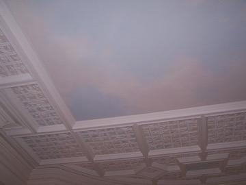 Sky mural, Boston
