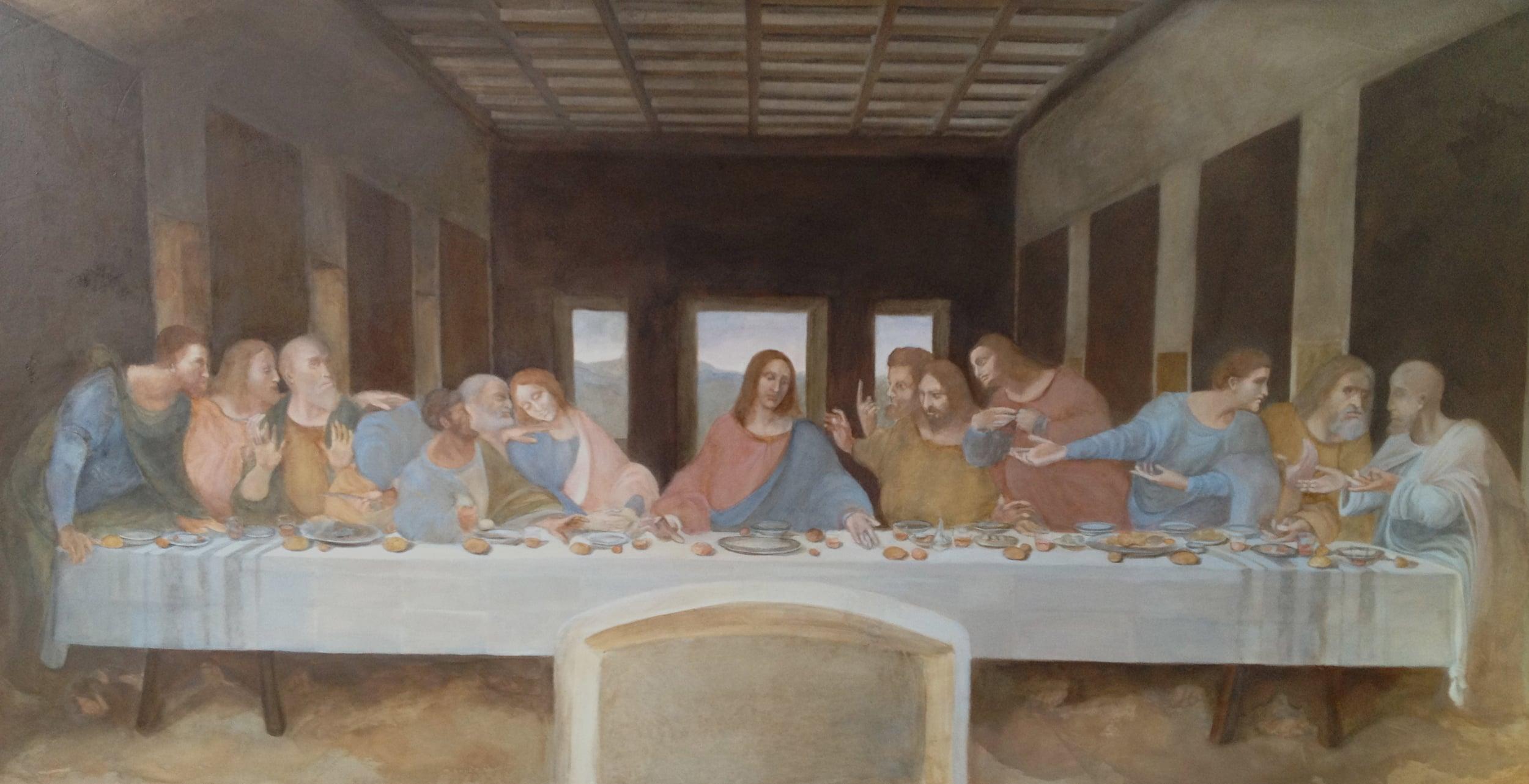 "Copy of Leonardo Da Vinci ""last Supper"""