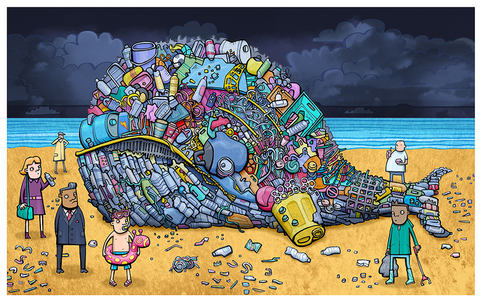 Plastic Waste Whale