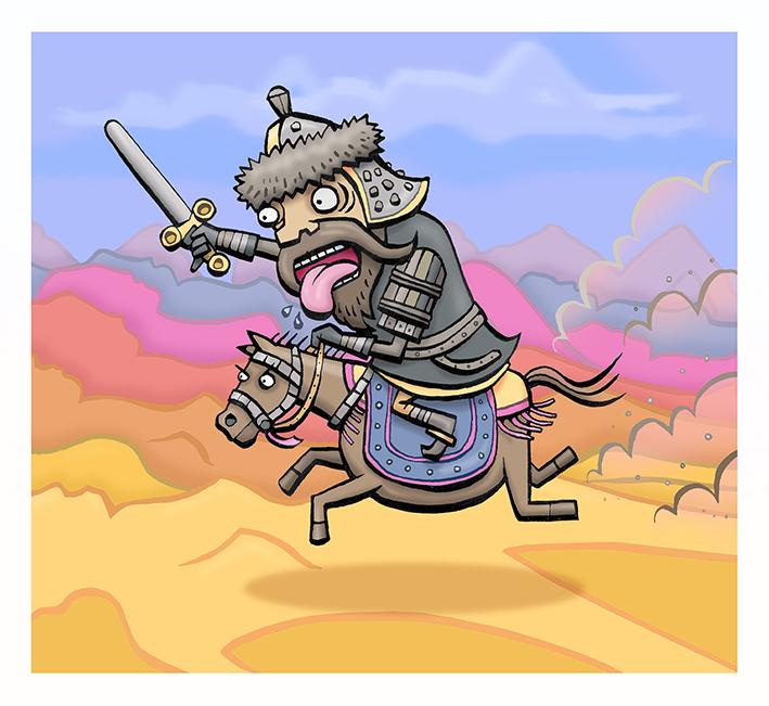 Genghis Khan Rampage