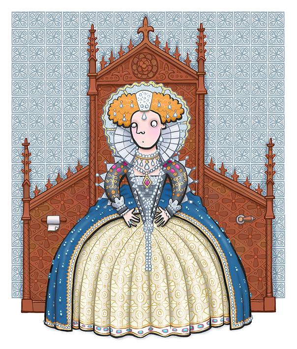 Elizabeth I Throne