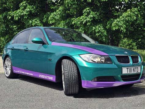 Vehicle Colour Change AFTER