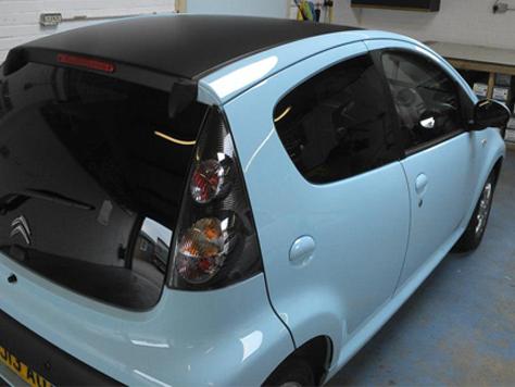 Vehicle Colour Change