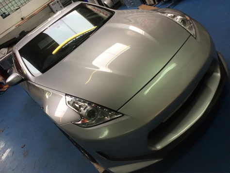 Vehicle Colour Change BEFORE
