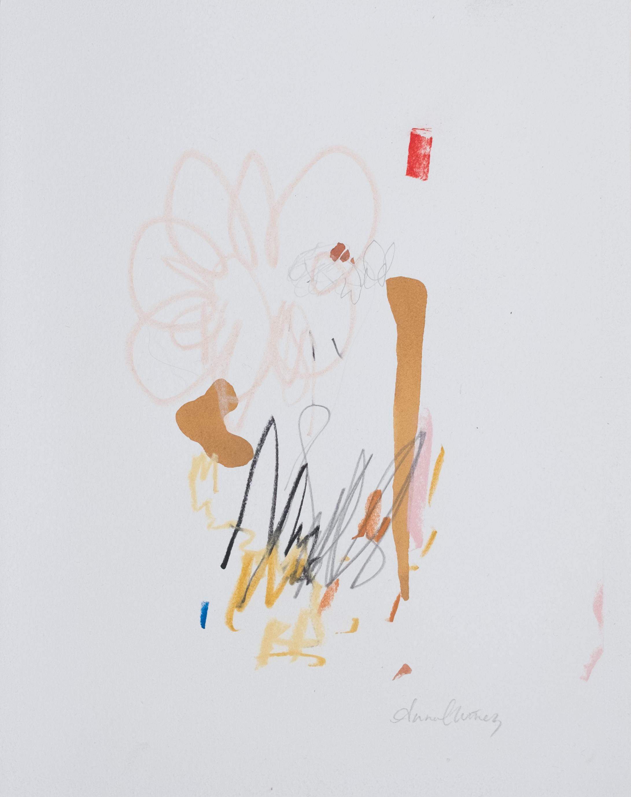 "Child / 11"" x 14"" / water color, graphite, chalk pastel on cotton paper"