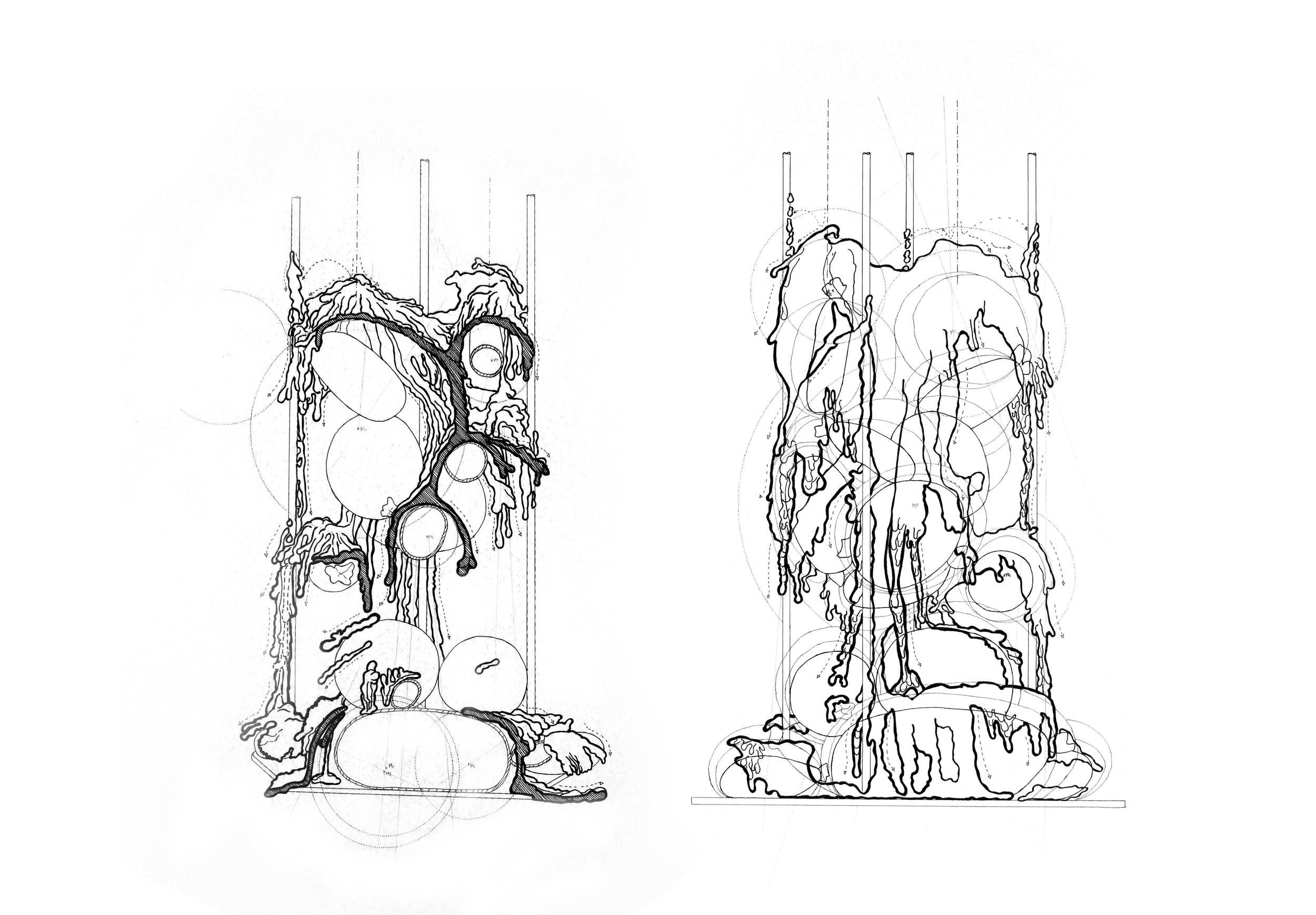 Phase 4 - Hybride - konfrontatives Experiment Autoren:Isabel Anna Fecker &Xixi Hu Photo: J. Cafuk / Y. Kaiser