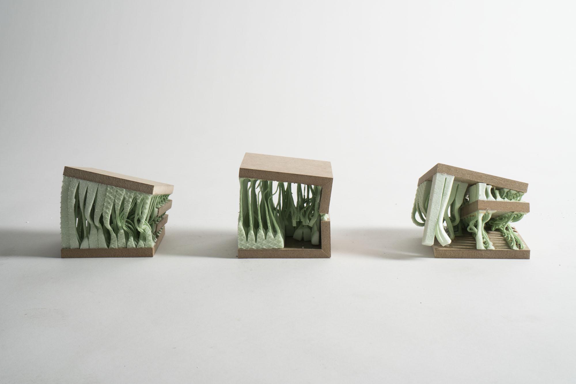 Phase 3 - Feld - Mutation: - kontemplatives Experiment  Autor: Hari Wolfer Photo: Jan Cafuk, Yannik Kaiser,2017