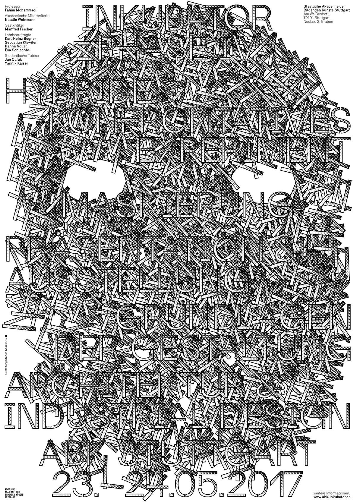 Abb.: Plakat (Gestaltung: Steffen Knöll)