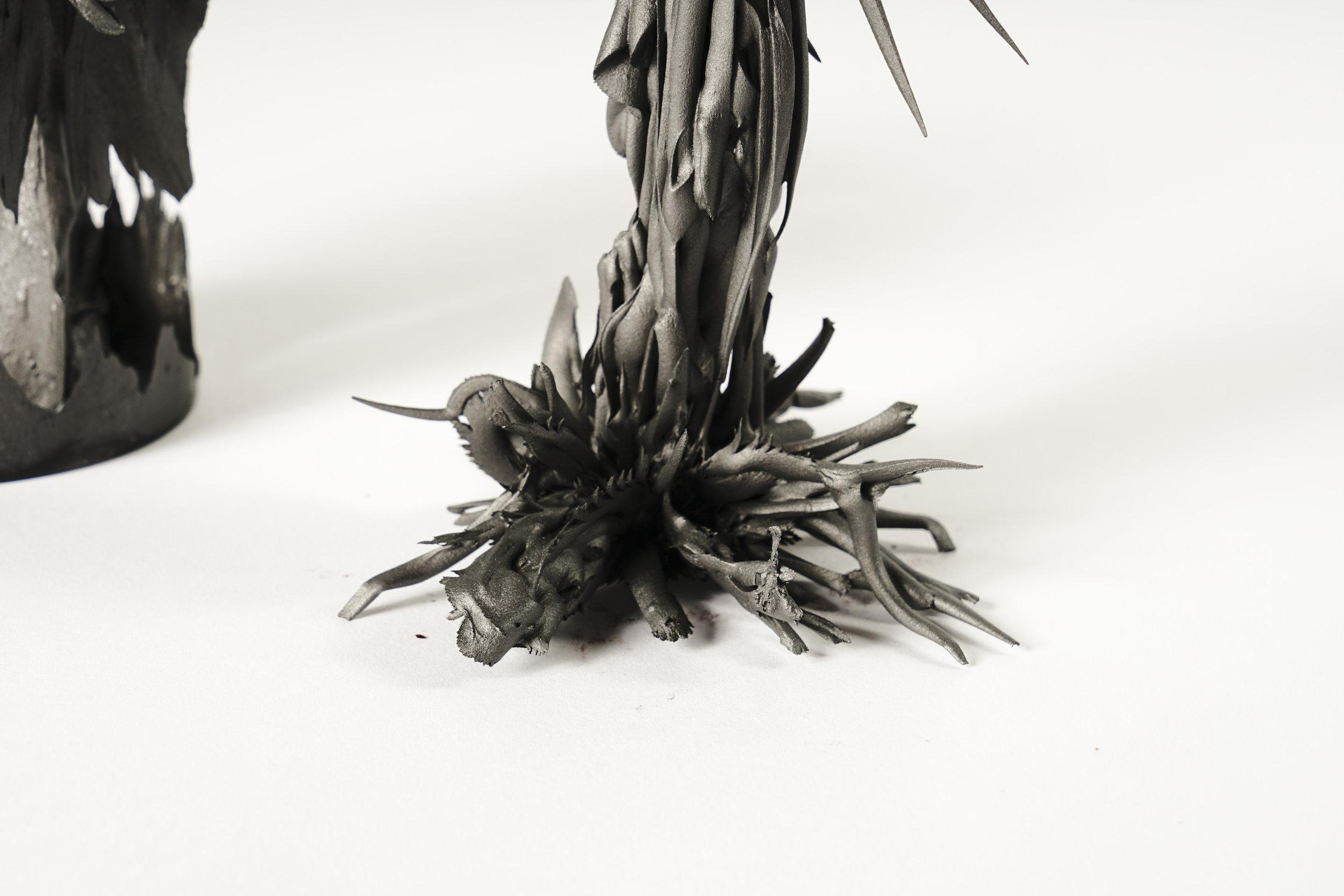 Phase 3 - Feld - Mutation: - kontemplatives Experiment  Autor: Manuel Kugler Photo: Johanna Schneider, Ines Viola Schlecker 2018