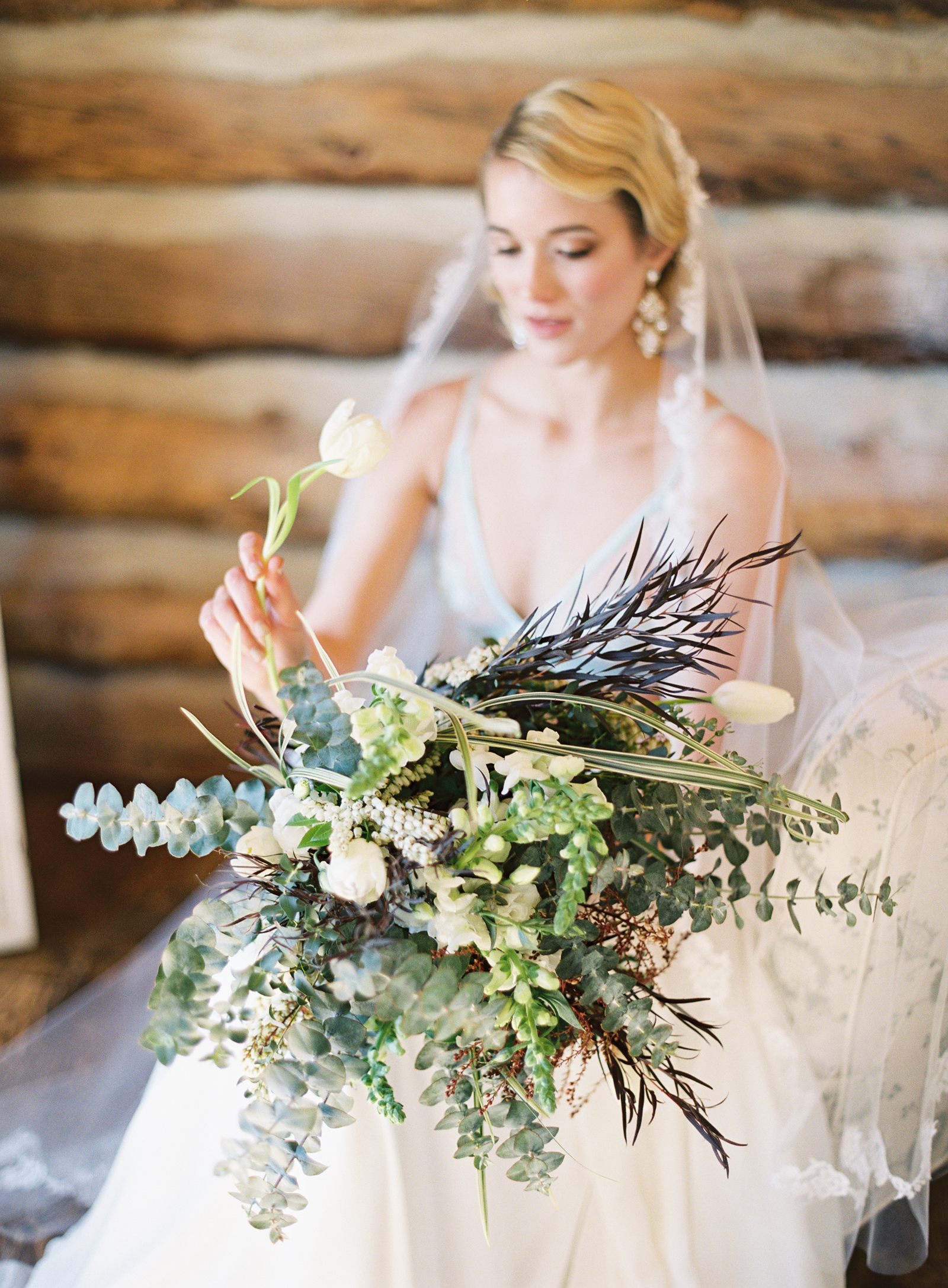 Wild Canyon Ranch Wedding   Berta Bridal   Vintage Bride