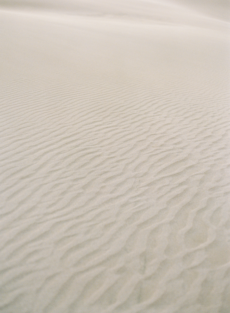 scenic colorado sand dunes on film
