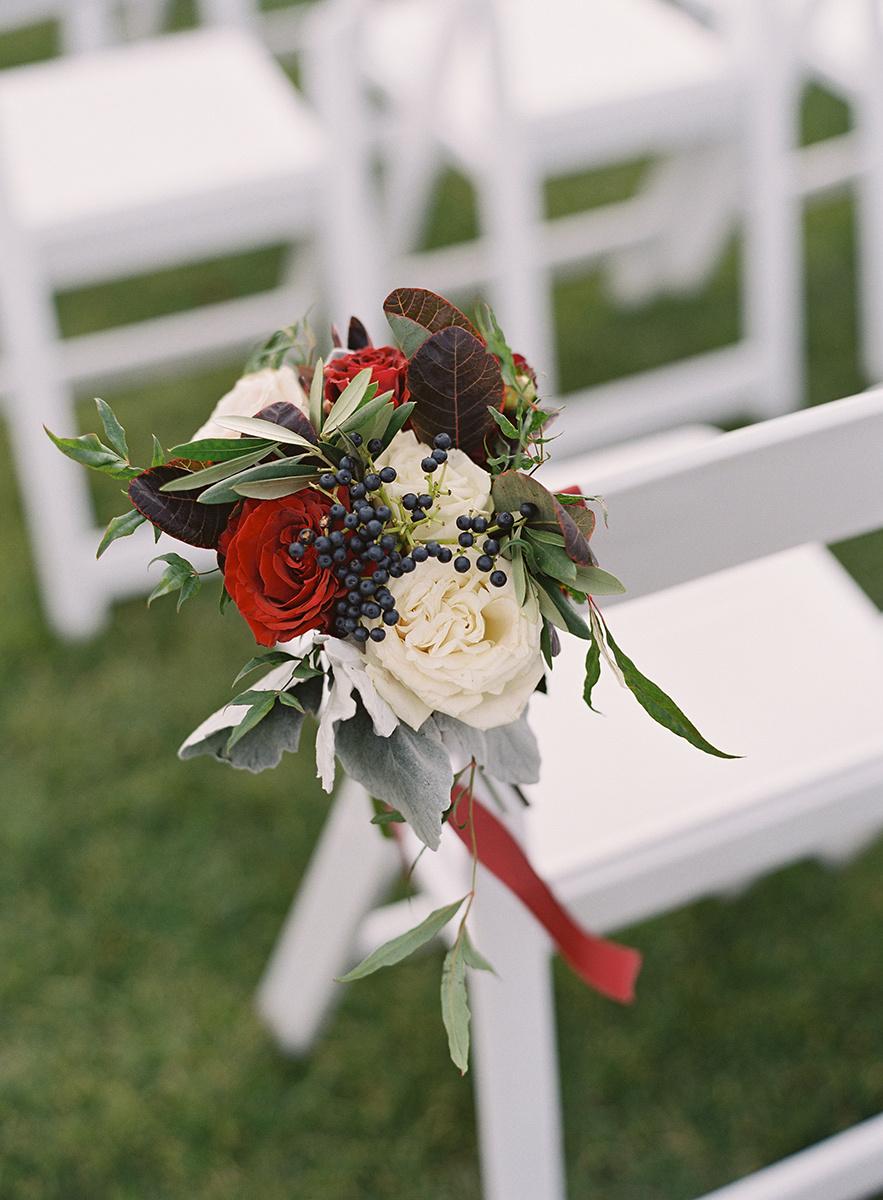 Floral Ceremony Details on Film