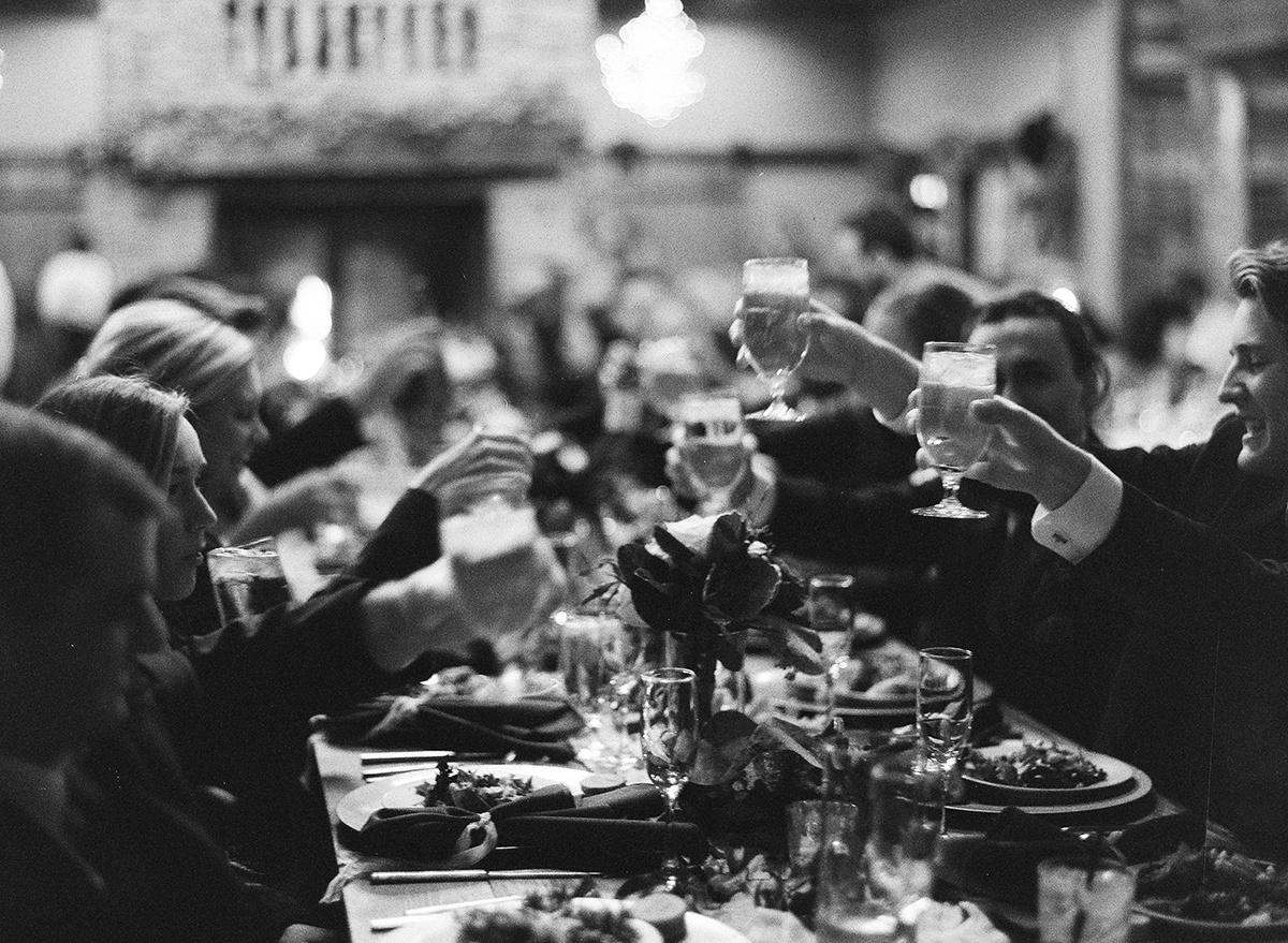 Wedding Reception Toasts on Film