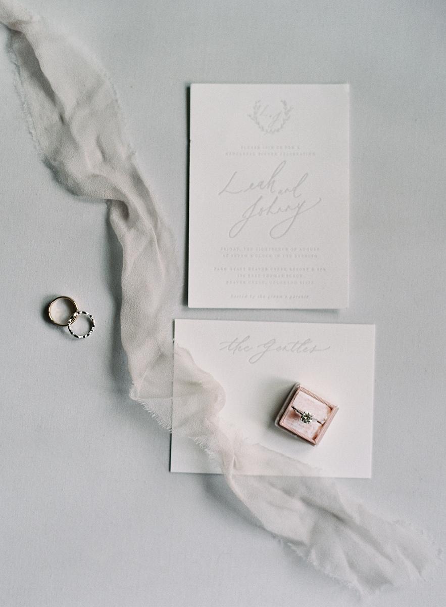 Wedding Details on Film