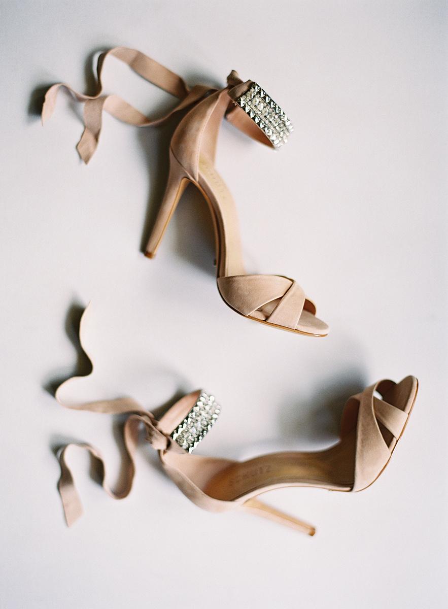 Bride's Shoes on Film