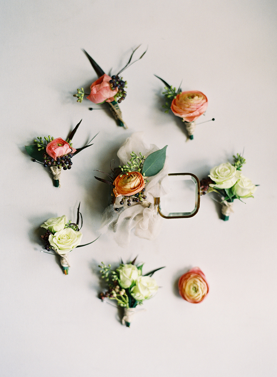 Boutonnieres on Film