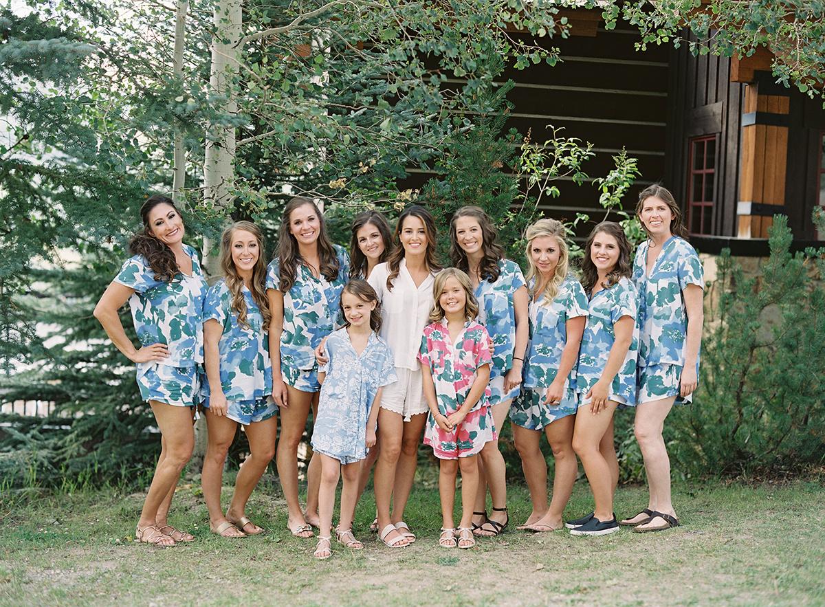 Summer bridesmaids on film