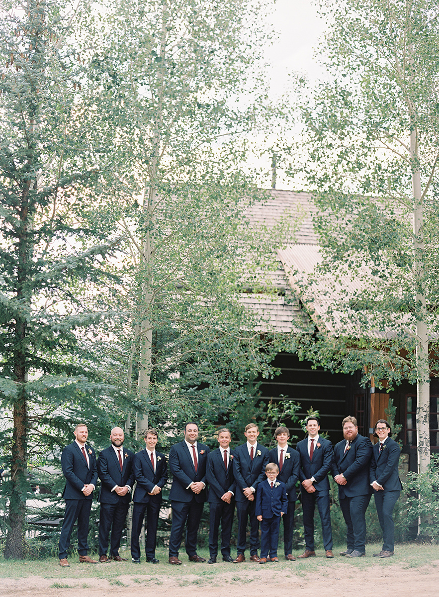 Colorado Groomsmen on Film