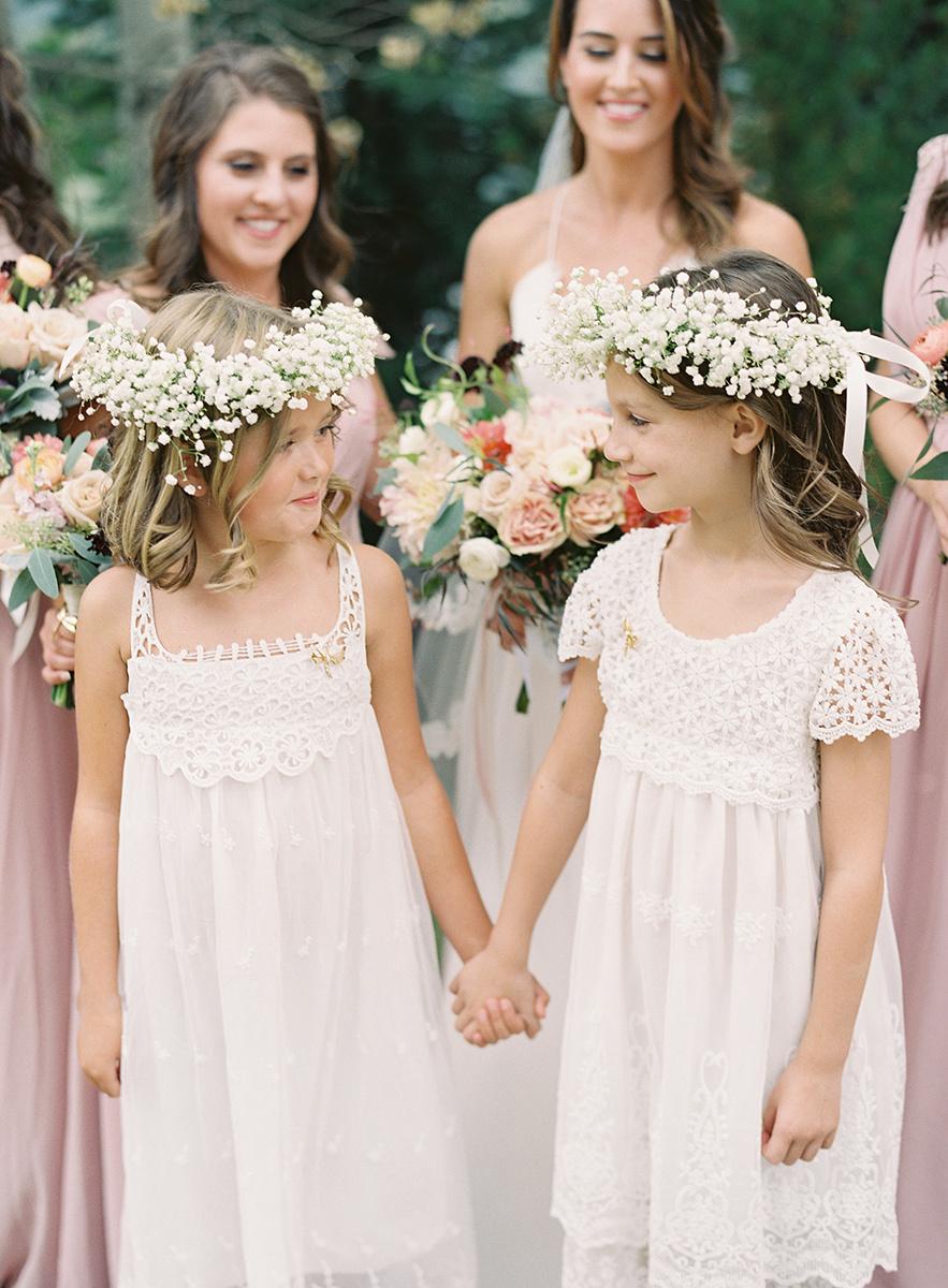 Flower girls on Film