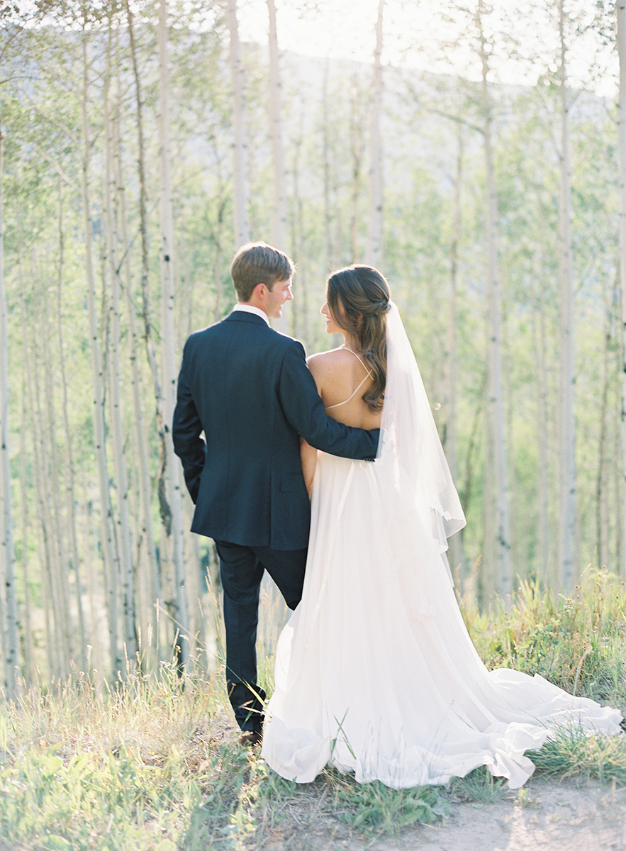 Rocky Mountain Wedding on Film