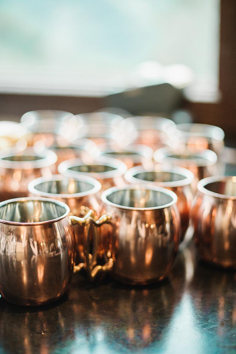 Copper Mugs on Film