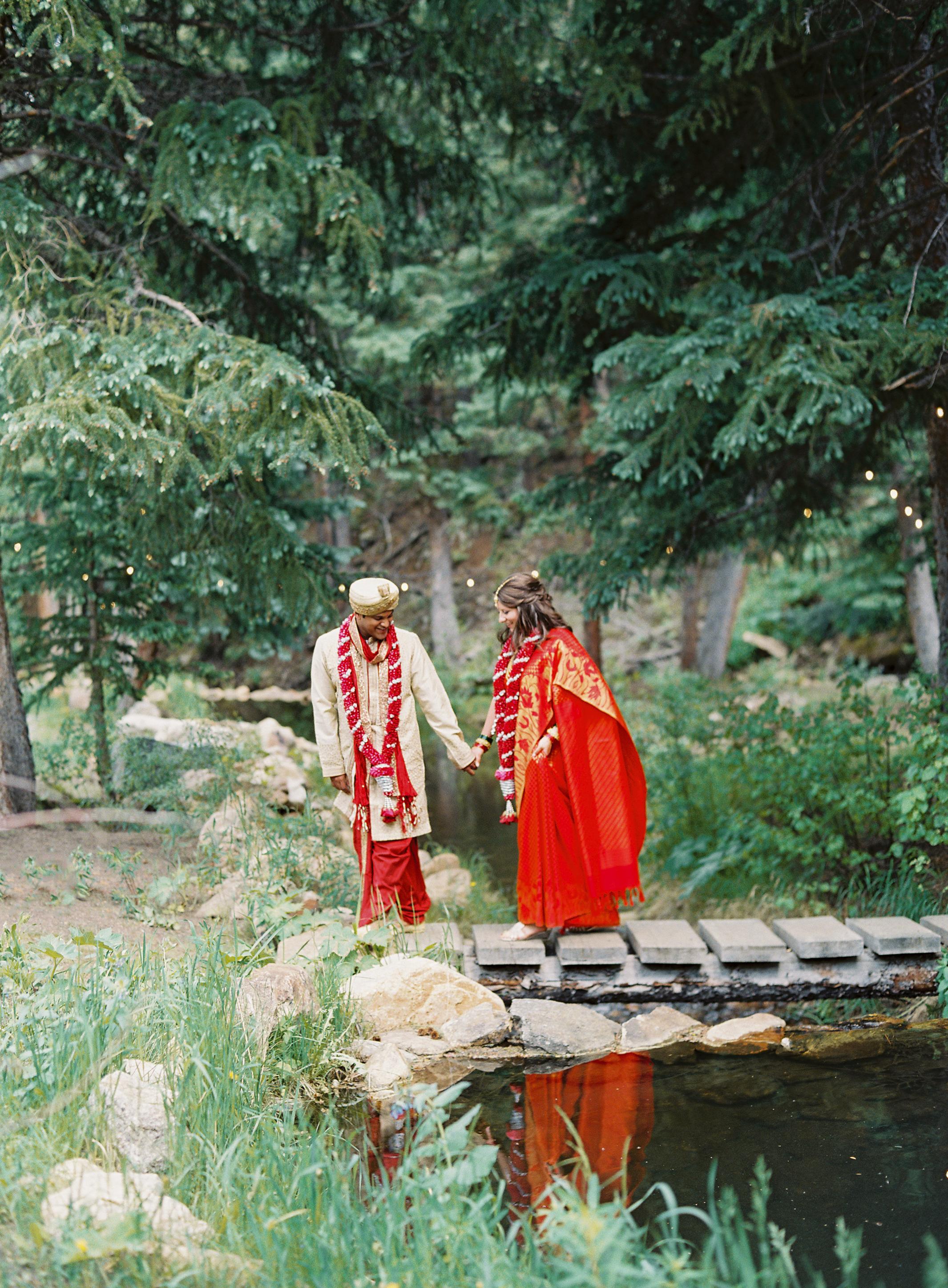 Libby + Gaurav - Blackstone Rivers Ranch, Colorado