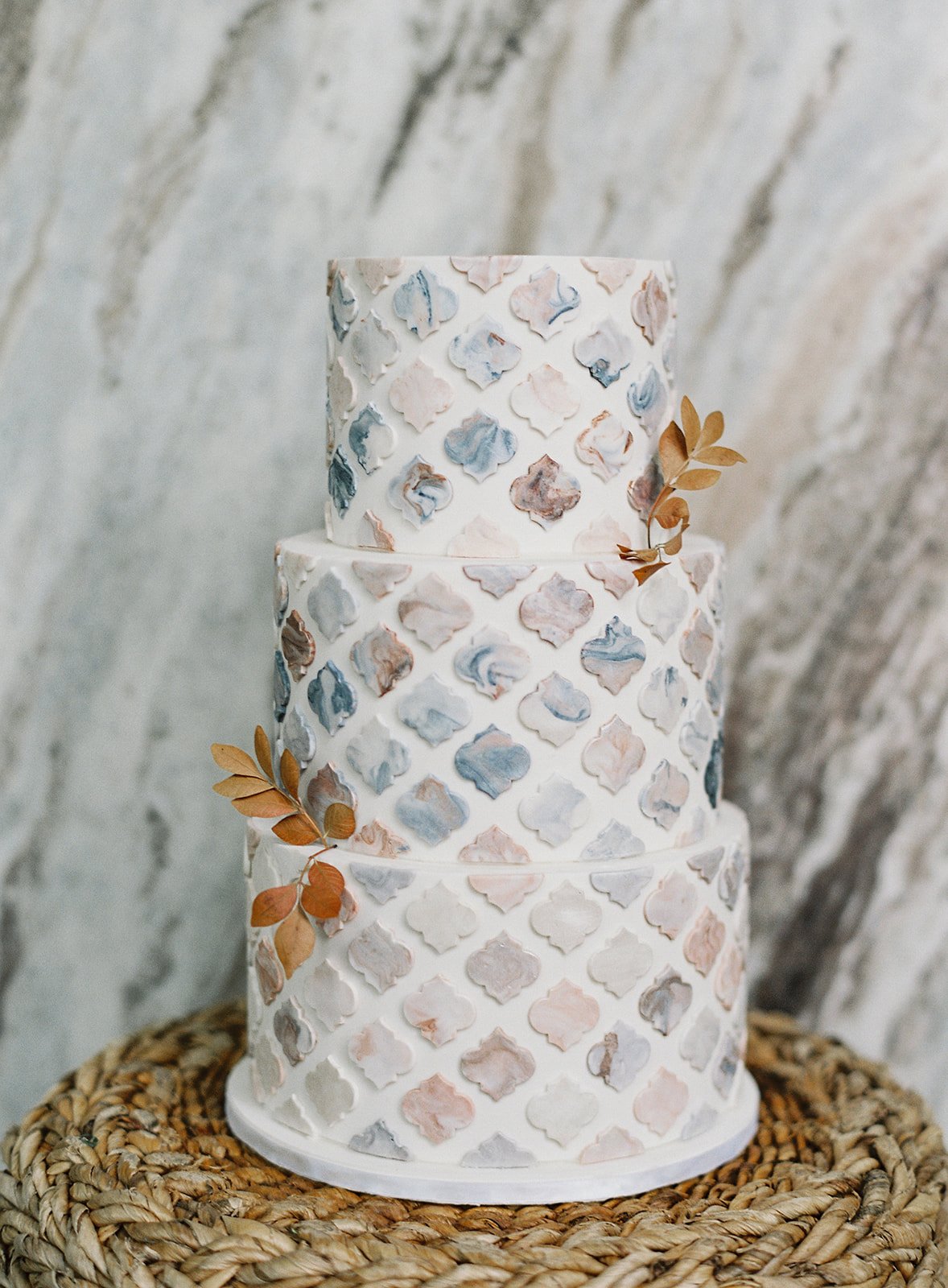 Marble Cake Design