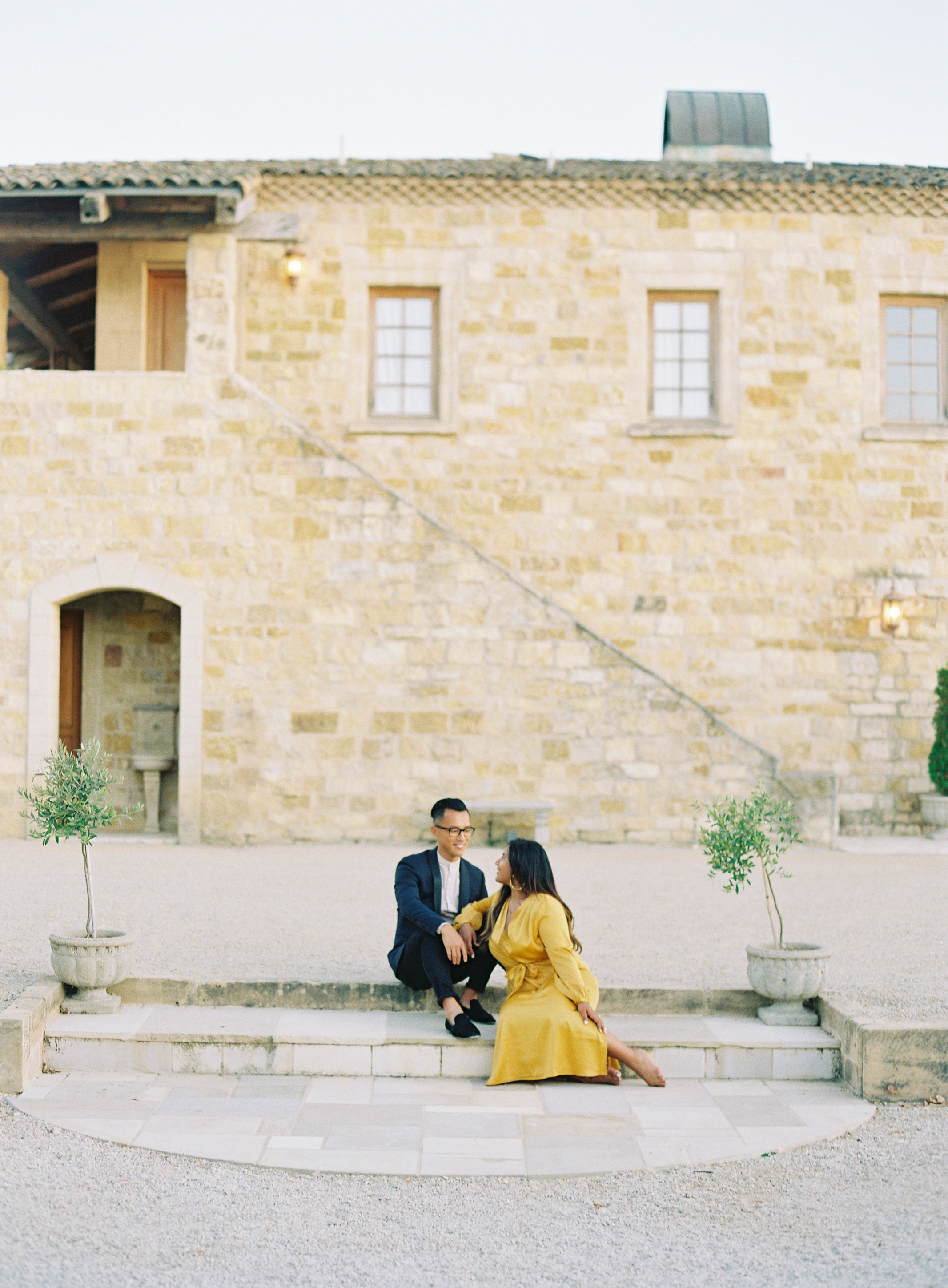 Sunstone Winery Engagement Session