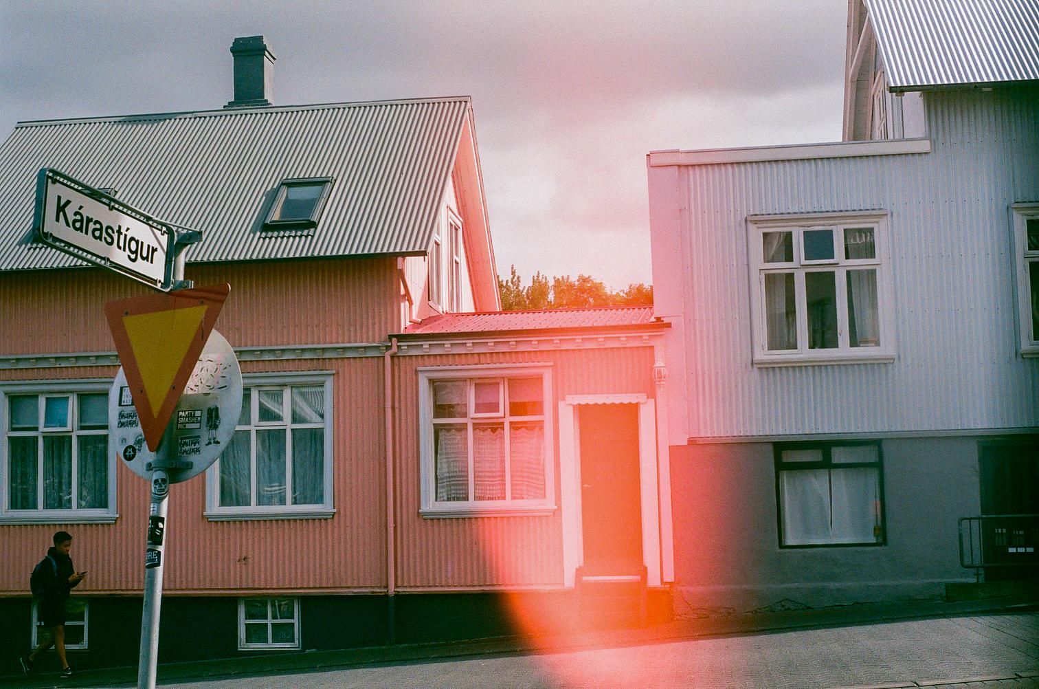 Reykjavik, Minolta SRT 201, shot on expired Kodak gold 400