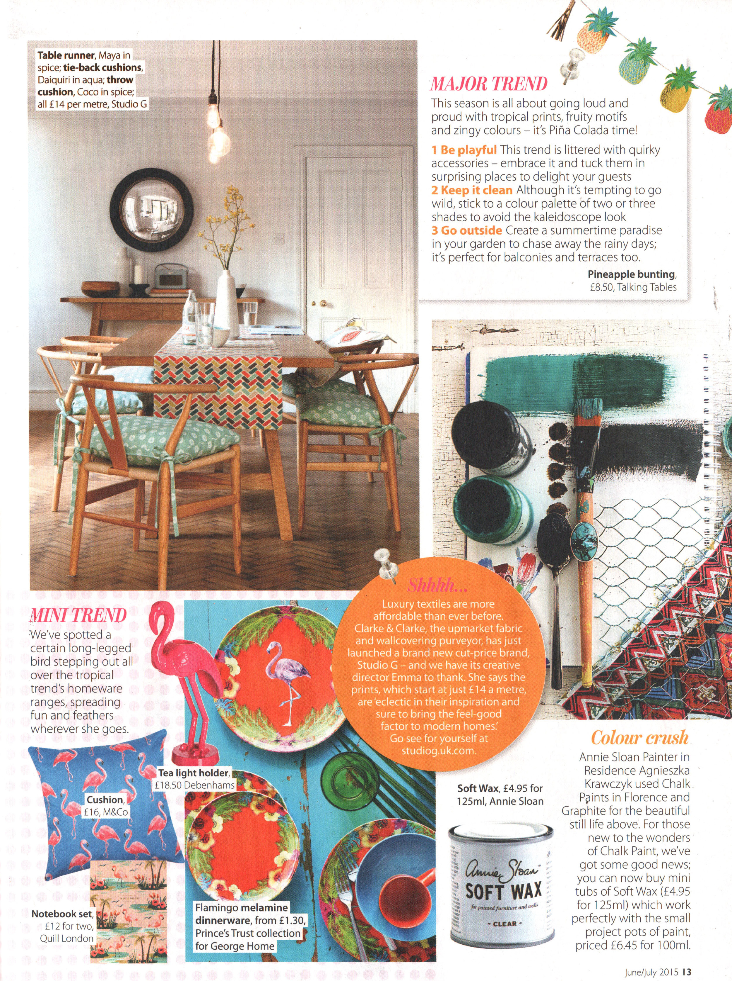 Homestyle Magazine, June/July 2015