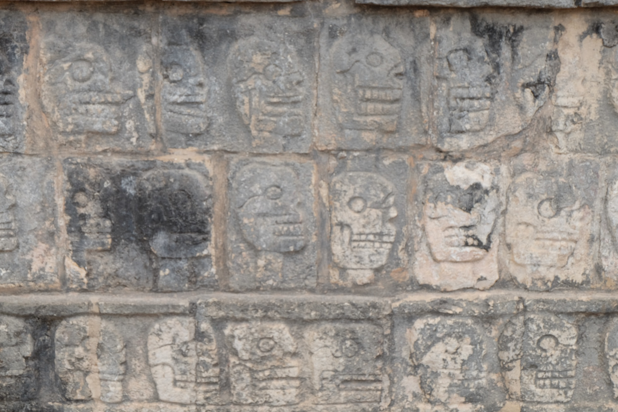 Carvings from Chichen Itza