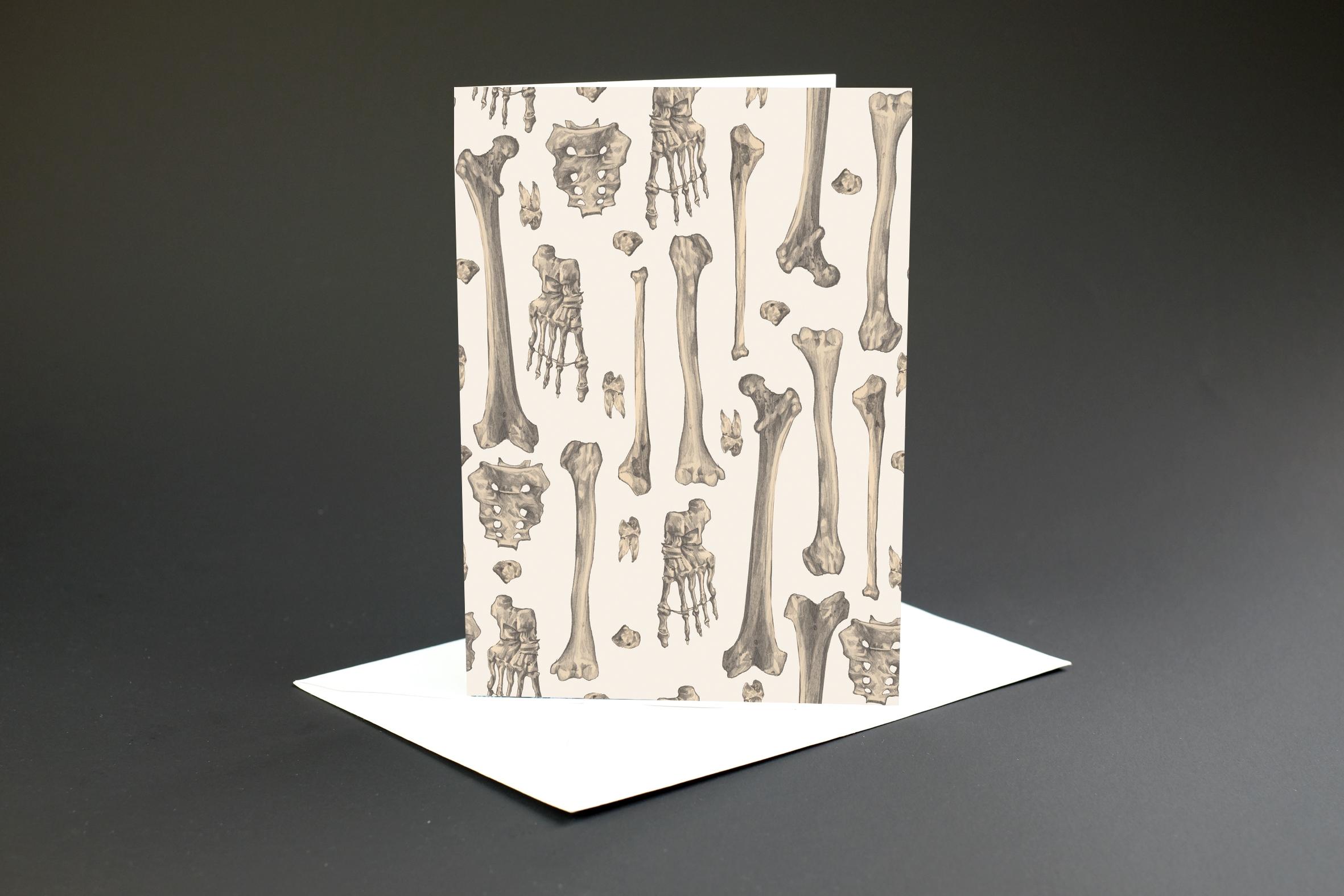 Bones Card £2.50