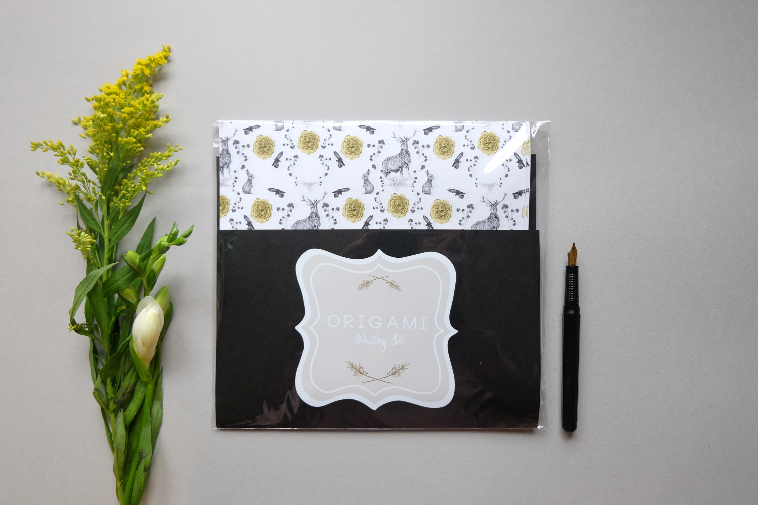 Flora and Fauna writing set £11.40