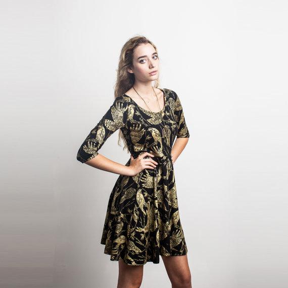 Screen Printed Dress