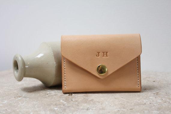 Minimal Leather Purse