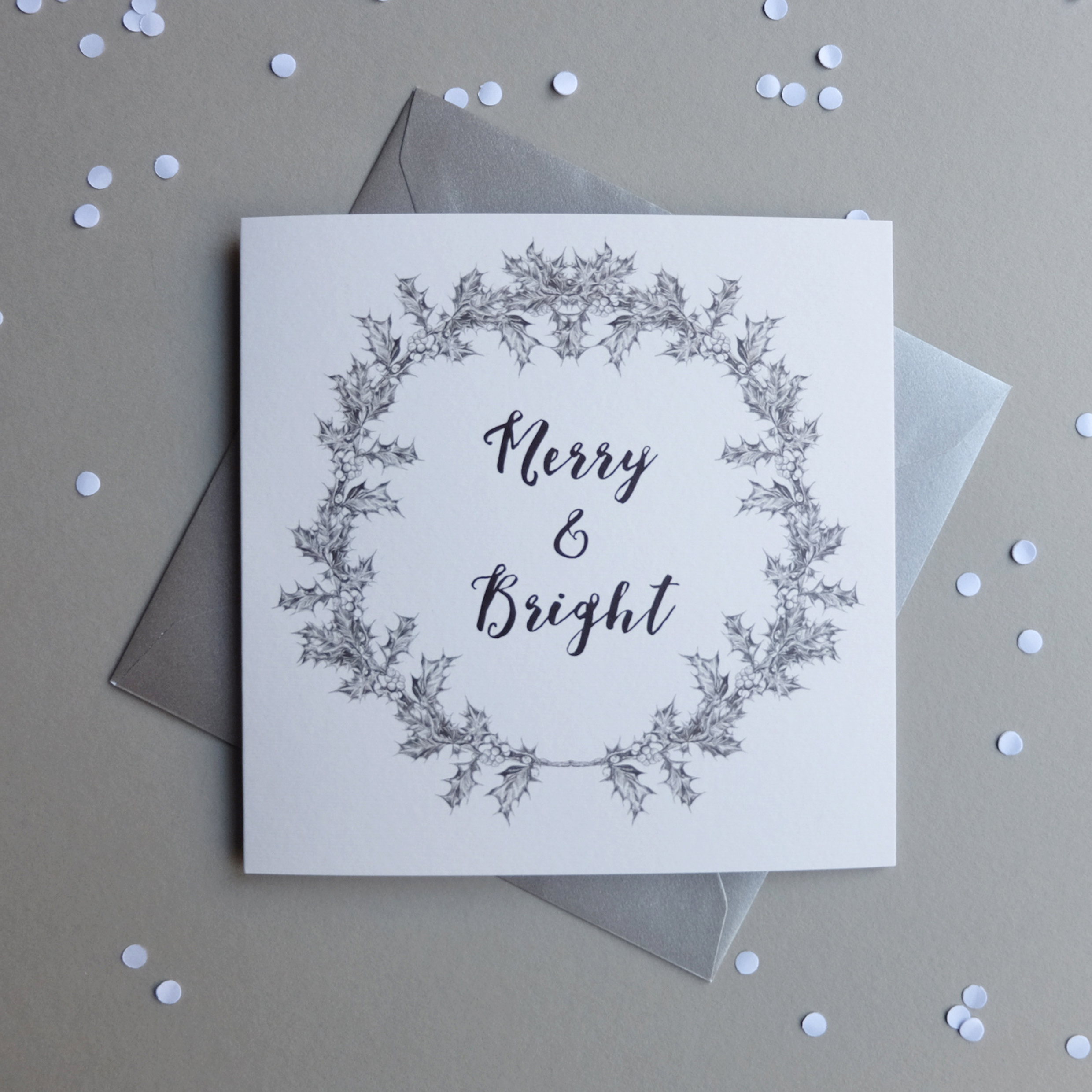 Merry and Bright Large Christmas Cards