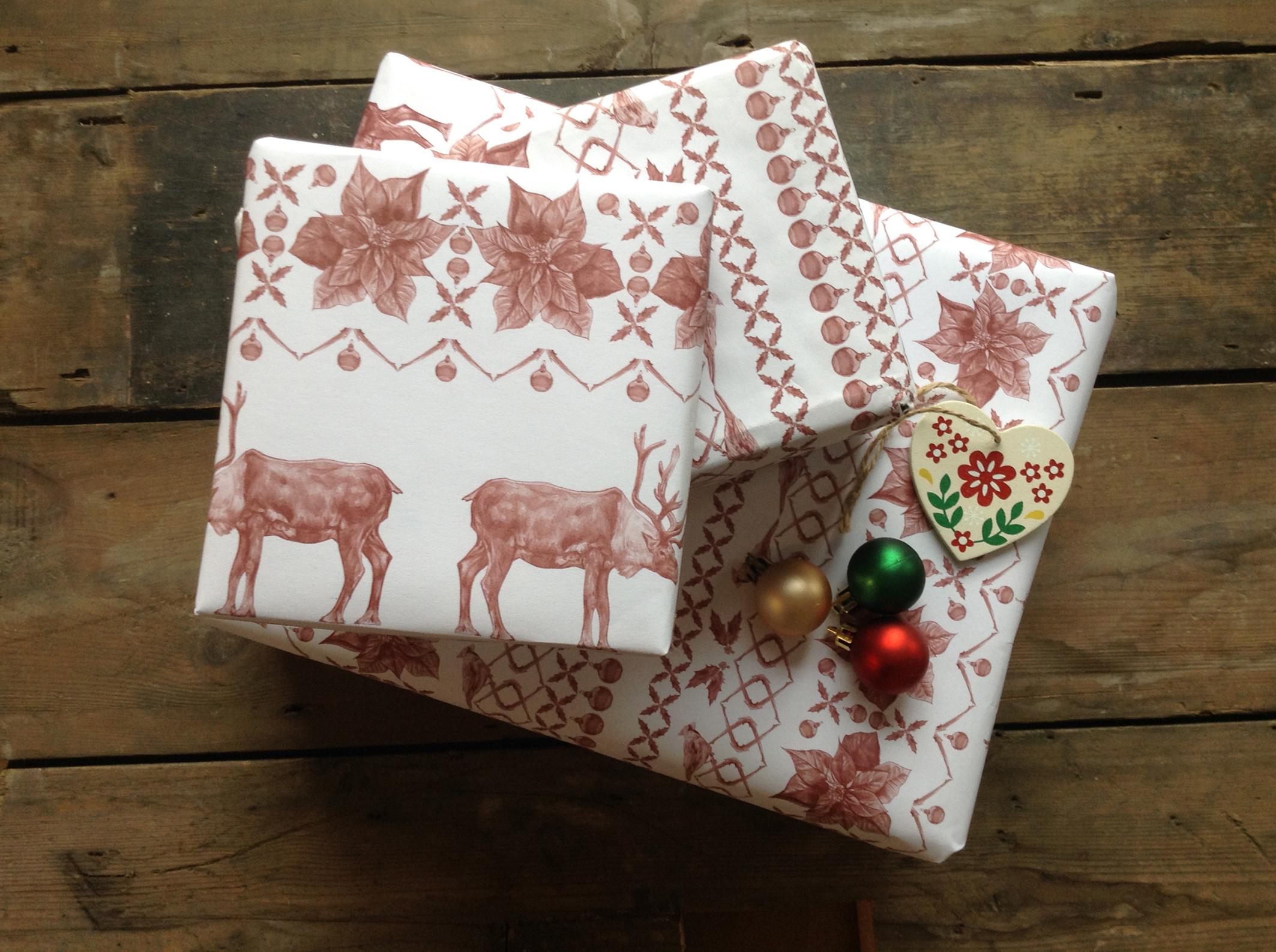 Christmas Jumper Gift Wrap Set