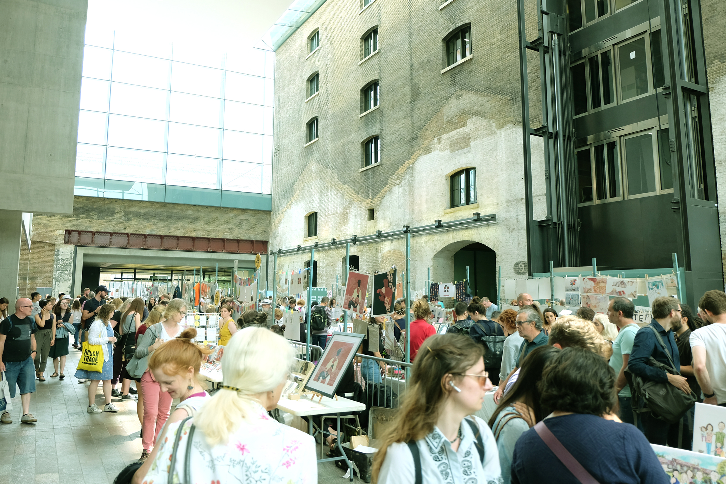 House of Illustration  Summer Fair held at The Crossing in Granary Square