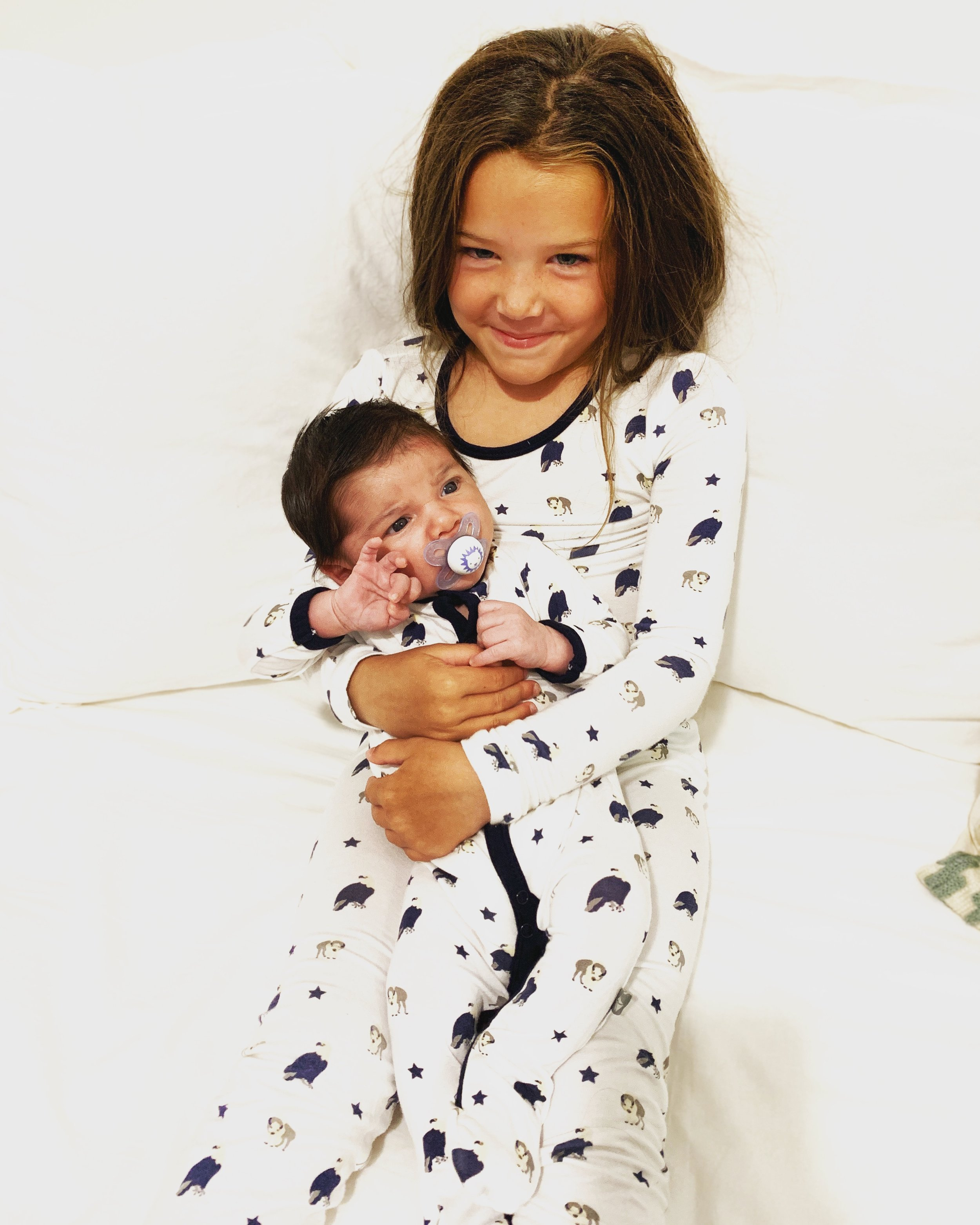 - Their pajamas are the softest around and they make great sleep bags. I also have their ring sling that I will soon use.