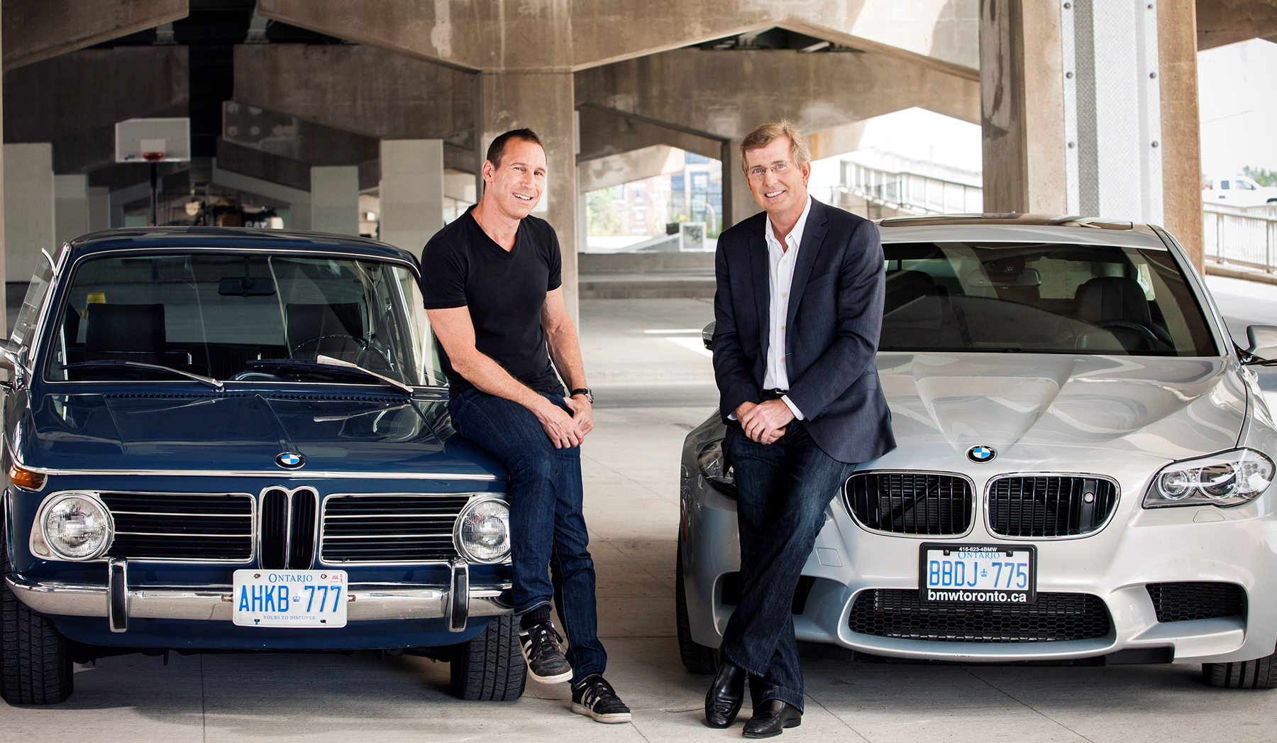 Founders  David Wex  (his 2002)  &   Mark Reeve  (and his M5)