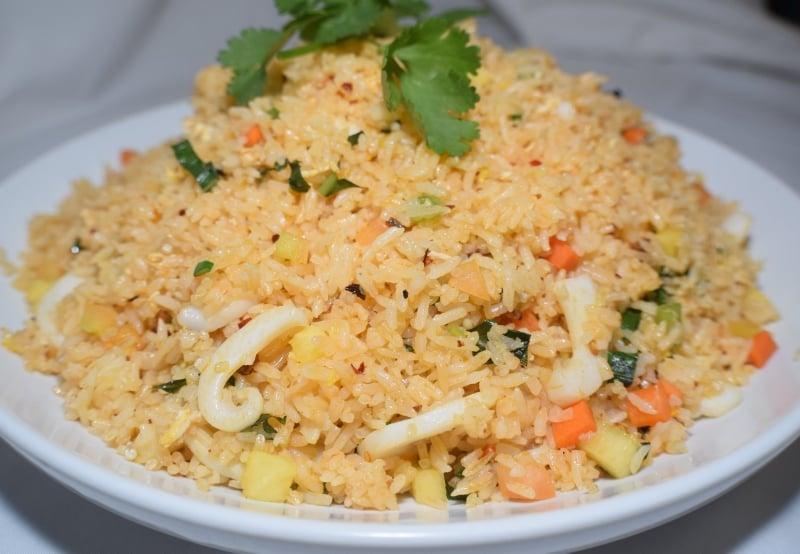 Hawaiian fried rice   Com chien Hawaii