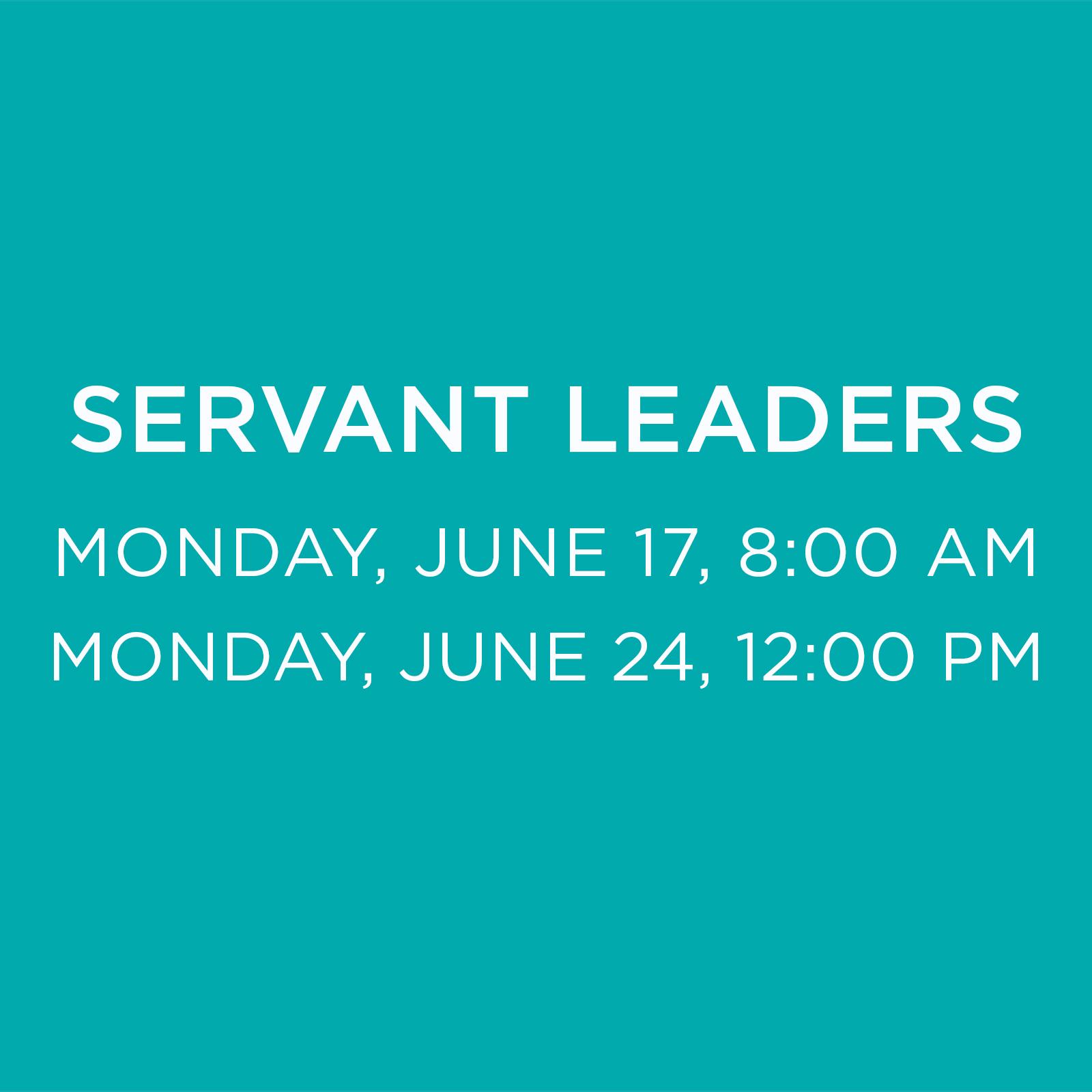 SERVANT LEADER DEPARTURE Times.jpg